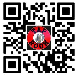 Tap Room Menu QR code.